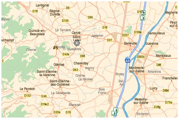 carte alain marquetoux - cave vins - crus du beaujolais
